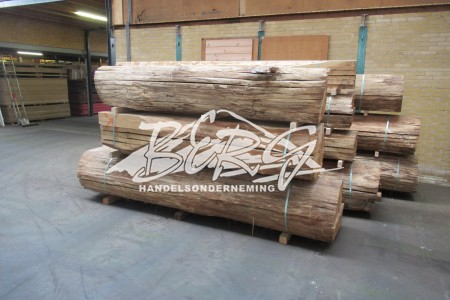 Gedroogd Eiken boomstambladen